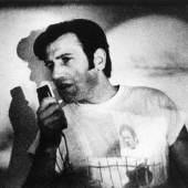 main site: Peter Weibel, possible 1969, © ZKM sub menue: Peter Weibel, actionlecture no. 1 1966, © ZKM