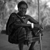 Alfred Weidinger: Achuka Lokochil Paul, Jie Clan Ältester, Kotido District, Karamoja, Uganda