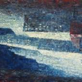 Heribert Mader (geb. 1937 in Steyr) Ney York Manhattan Öl-LW 2012 120x80cm