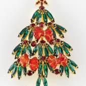 Nr. 52 Weihnachtsbaum-Brosche, Pricharé Rufpreis € 360