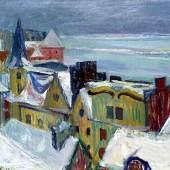 Willem Grimm Blankenese im Winter © Privatsammlung in der Hamburger KunsthalleWillem Grimm Blankenese im Winter © Privatsammlung in der Hamburger Kunsthalle