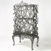 Gallery FUMI, Studio Markunpoika, Engineering Temporality Cabinet, Steel, 2012