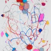 Who am I to tell you..? I, 2020, Bleistift und Buntstift auf Papier, 29,7 x 21 cm