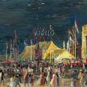 Otto Rudolf Schatz Zirkus Apollo am Karlsplatz, 1956 Öl auf Leinwand, monogrammiert: ORS 75 x 97 cm  Zur Verfügung gestellt von: Kunsthandel Widder