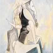 Wifredo Lam, La fiancée à Kiriwina, 1949, Fondation Marguerite et Aimé Maegh