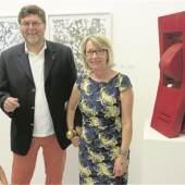 Galeristen-Ehepaar Wilfried und Elisabeth Thron