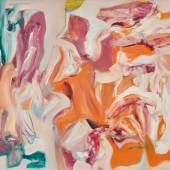 Willem de Kooning Untitled VI 1978 Oil on canvas 54 x 60 inches Estimate $8/12 million