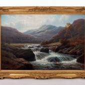 The River Llugwy, North Wales  Artist: William Mellor (1851-1931), Exhibitor:  Carnes Fine Art