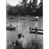 Willy Ronis, Bords de Marne, pêcheurs - © Artcurial