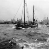 Max Halberstadt, Schiffsverkehr im Hamburger Hafen, undatiert, Sammlung Rosenthal, USA