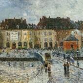 Gustave Loiseau Le Port de la Poissonerie, Dieppe  Öl auf Leinwand | 50,5 x 61cm  Ergebnis: 83.200 Euro