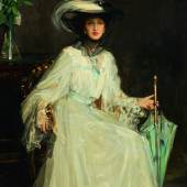 Sir John Lavery, Lady Evelyn Farquhar, oil on canvas, 1906, est. £600,000-800,000 / €674,000-898,000
