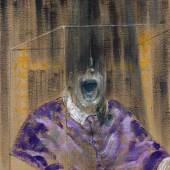 Francis Bacon, Head VI, 1949. Oil on canvas. 91.4 x 76.2 cm. Arts Council Collection, London © The Estate of Francis Bacon. All rights reserved, DACS/Artimage 2020. Photo: Prudence Cuming Associates Ltd.