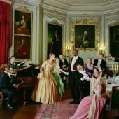 Yinka Shonibare CBE, Diary of a Victorian Dandy: 19.00 hours, 1998, Stephen Friedman Gallery, London, © Yinka Shonibare CBE, Courtesy der Künstler, Stephen Friedman Gallery, London und James Cohan Gallery, New York