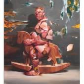 Wanderer, 2020 Öl auf Leinwand, 140 x 120 cm