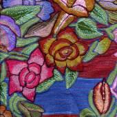 Lisl Ponger Textil aus Zinacantán, Mexico Abbildung aus dem Katalog © Lisl Ponger