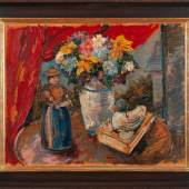 Franz von Zülow (Wien 1883 - 1963 Wien) Stillleben Öl auf Karton, 56 x 78 cm  Zur Verfügung gestellt von: Kunsthandel Zöchling