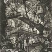 Die Zugbrücke, um 1835 (Erstdruck 1761) Giovanni Battista Piranesi Radierung, 553 x 412 mm (Platte), 835 x 580 mm (Blatt)  © Hamburger Kunsthalle/bpk