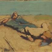 EGGER LIENZ, Albin 1886 – 1926 Die Quelle 1924 Auktionsergebnis: € 176.900,-