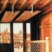 """Campin, Robert  St. Joseph Portrayed as a Medieval Carpenter Altniederlaendische Malerei   Das Gemälde """"St. Joseph Portrayed as a Medieval Carpenter"""" von Campin, Robert als hochwertige, handgemalte Ölgemälde-Replikation. www.oel-bild.de"""