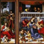 "Cranach, Lucas  Altar Of The Holy Family (Torgau Altar) Renaissance   Das Gemälde ""Altar Of The Holy Family (Torgau Altar)"" von Cranach. Bildmaterial: www.oel-bild.de"