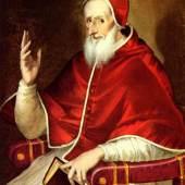 "Greco, El  Portrait des Papst Pius V Renaissance   Das Gemälde ""Portrait des Papst Pius V"" von Greco, El als hochwertige, handgemalte Ölgemälde-Replikation. Bildmaterial: www.oel-bild.de"