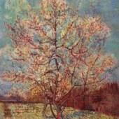 """Gogh, Vincent Willem van  Bluehender Pfirsischbaum Impressionismus   Das Gemälde """"Bluehender Pfirsischbaum"""" von Vincent Willem van Gogh als hochwertige, handgemalte Ölgemälde-Replikation. Originalformat: 73 x 59,5 cm Quelle: www.oel-bild.de"""