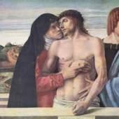 Bellini Giovanni; Alte Meister, Pieta um 1467 Quelle: www.oel-bild.de