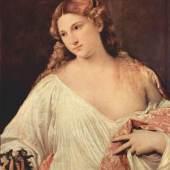 Diese Bilder-Vorlage Flora Von Tizian als hochwertiges, handgemaltes Gem?lde. Wir malen Ihr ?lgem?lde nach Ihrer Vorlage. Originalformat: 79 x 63 cm Entstanden: um 1515