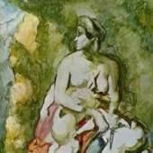 """Cezanne Biographie - Cézanne, Biographie, Medea. Das Gemälde """"Medea"""" von Paul Cezanne als hochwertige, handgemalte Ölgemälde-Replikation. Quelle: www.oel-bild.de"""