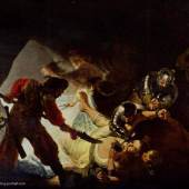 """Rembrandt Werke, Die Blendung Simons"""" 1636 Quelle: www.oel-bild.de"""
