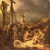 Rembrandt Werke, Die Kreuzabnahme Christie. Quelle: www.oel-bild.de