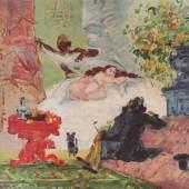 """Cezanne Paul - Cézanne Meister des 19.Jahrhunderts Olympia. Das Gemälde """"Olympia"""" von Paul Cezanne als hochwertige, handgemalte Ölgemälde-Replikation. Quelle: www.oel-bild.de"""