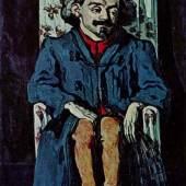 """Cezanne, Paul  Portraet des Achille Emperaire Impressionismus   Das Gemälde """"Portraet des Achille Emperaire"""" von Paul Cezanne als hochwertige, handgemalte Ölgemälde-Replikation. Originalformat: 197 x 120 cm. Quelle: www.oel-bild.de."""