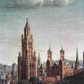 """Eyck, Jan van  Adoration of the Lamb (Detail) Altniederlaendische Malerei   Das Gemälde """"Adoration of the Lamb (Detail)"""" von Eyck, Jan van als hochwertige, handgemalte Ölgemälde-Replikation. www.oel-bild.de"""