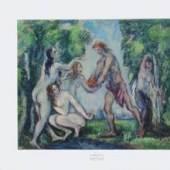 Cezanne Paul - Cezanne, Biographie 1839 - 1906. Urteil des Paris Privatbesitz Motivformat: 49,9 x 60,5 cm (HxB). Bildmaterial: reisserbilder.at