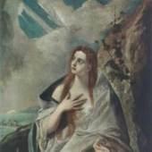 El Greco, Maria Magdalena, Museum of Fine Arts, Budapest El Greco, Maria Magdalena, Museum of Fine Arts, Budapest