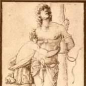 Mantegna Andrea 1431 - 1506   Heiliger Sebastian Mantegna-Schule, Albertina, Wien. Schule von Padua. Bildmaterial: reisserbilder.at