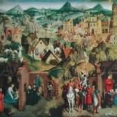Memling Hans 1433 - 1494   Die sieben Freuden Mariae Bayerische Staatsgemäldesammlungen, München. Bildmaterial: reisserbilder.at