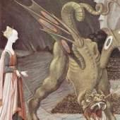 Paolo Uccello, Der Drache, ein Archetyp der Fantasy. Bildnachweis: de.academic.ru