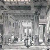 Römische Antike - Innenarchitektur einer Villa in Pompeji