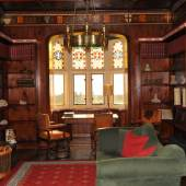 Augustus Pugin, The library of Pugin's own house in Ramsgate (c) fisheaters.com