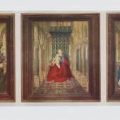 Eyck Jan van um 1390 - 1441   Flügelaltar Gemäldegalerie Dresden, Alte Meister. Bildmaterial: reisserbilder.at
