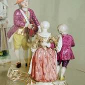 Ausstattungsstücke: Frankenthaler Porzellan  Schausteller F. J. Lück, Frankenthal, 1758-64. Bildmaterial: www.zum.de