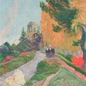 Gauguin Paul 1848 - 1903 Les Alyscamps, Arles Musée du Louvre, Paris © reisserbilder.at