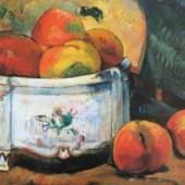 Gauguin Paul 1848 - 1903   Stilleben mit Pfirsich © reisserbilder.at