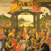 Domenico Ghirlandaio, Adoration of the Magi  1488  Spedale degli Innocenti, Florence