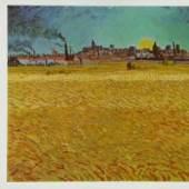 Sommerabend bei Arles - 1888 Kunstmuseum, Winterthur Drucktechnik: Offset-Druck Wien KUNSTVERLAG REISSER Kunstdrucke, Bilder, Poster-Shop