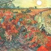 Gogh Vincent van - van Gogh Meister des 19.Jahrhunderts 1853 - 1890 Bestellnummer: Br. 9797 Die roten Weinberge Drucktechnik: Offset-Druck Puschkin-Museum, Moskau KUNSTVERLAG REISSER Kunstdrucke, Bilder, Poster-Shop