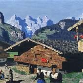 WALDE, Alfons 1891- 1951 Bergweiler 1934 Auktion 29. Mai 2008 Auktionsergebnis: € 305.000